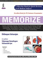 Front cover: MEMORIZE, 1st edition