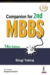 Front cover:Companion for 2nd MBBS 14/e
