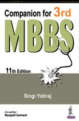 Front cover: Companion for 3rd MBBS, 11th edition