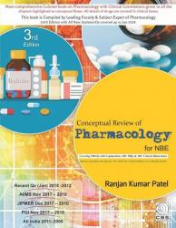 Front cover: Conceptual Review of Pharmacology for NBE, 3rd Edition