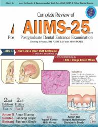 Front cover: Complete Review of AIIMS-25 Years, 2nd edition