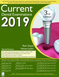 Front cover:Current Dental Examinations 2019, 3rd edition