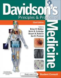 Front cover: Davidson's Principles & Practice of Medicine