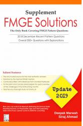 Front cover:FMGE Solutions-Update-2019 (Supplement), 1/E