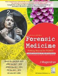 Front cover: Forensic Medicine: Nothing Beyond for PGMEE, 2nd Edition