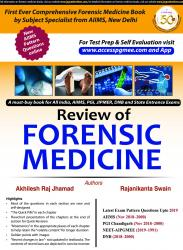 Front cover:REVIEW OF FORENSIC MEDICINE, 1e