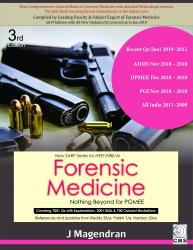 Front cover:Forensic Medicine Nothing beyond for PGMEE