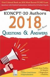 Front cover: KONCPT - 20 Authors 2018 Most Recent Questions & Answers