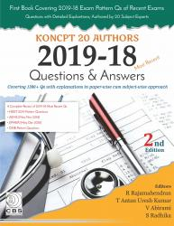 Front cover:KONCPT-20 Authors: 2019-18, 2/e