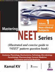 Front cover: Mastering NEET Series: Non-Clinical Subjects, Volume 1