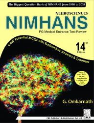 Front cover:Neurosciences NIMHANS PG Medical Entrance Test Review, 14/e