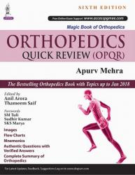 Front cover: Orthopedics Quick Review (OPQR), 6th Edition