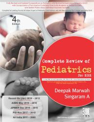 Front cover:Complete Review of Pediatrics for NBE By Deepak Marwah,Singaram A