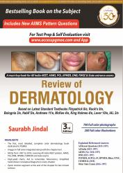 Front cover:REVIEW OF DERMATOLOGY 3/e, 2019
