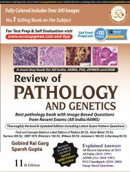 Front cover:Review of PATHOLOGY AND GENETICS  11/e, 2019