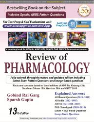 Front cover:Review of Pharmacology 13/e, 2019