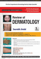 Front cover: Review of Dermatology, 2nd edition