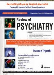 Front cover: Review of Psychiatry, 3rd edition