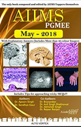 Front cover: AIIMS PGMEE May 2018 By Dr. Apoorv Singh