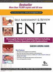 Front cover: Self Assessment & Review ENT, 9th edition
