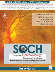 Front cover:SOCH: Simplified Ophthalmology Conceptual Review, 3/e