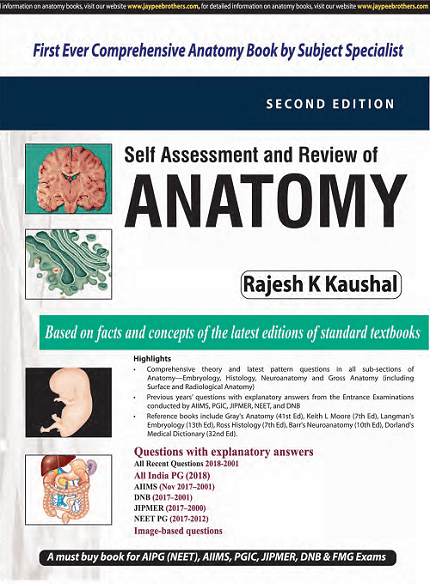 Buy Self Assessment And Review Of Anatomy 2nd Edition Latest