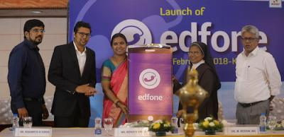 Edfone Launch by Dr. Beena IAS